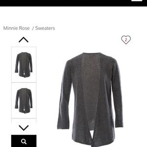 Minnie Rose 100% Cashmere Duster